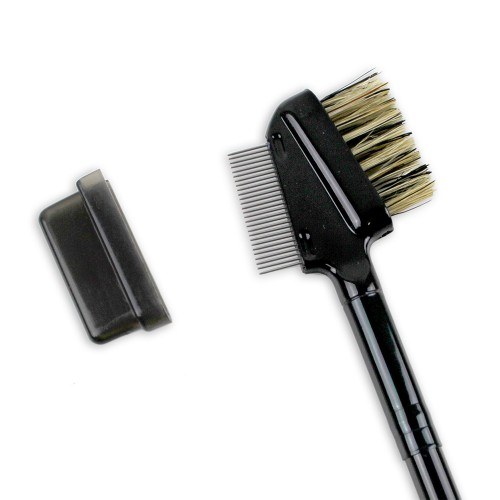 Metal Eyelash Comb & Brow Brush Duo ***out of stock